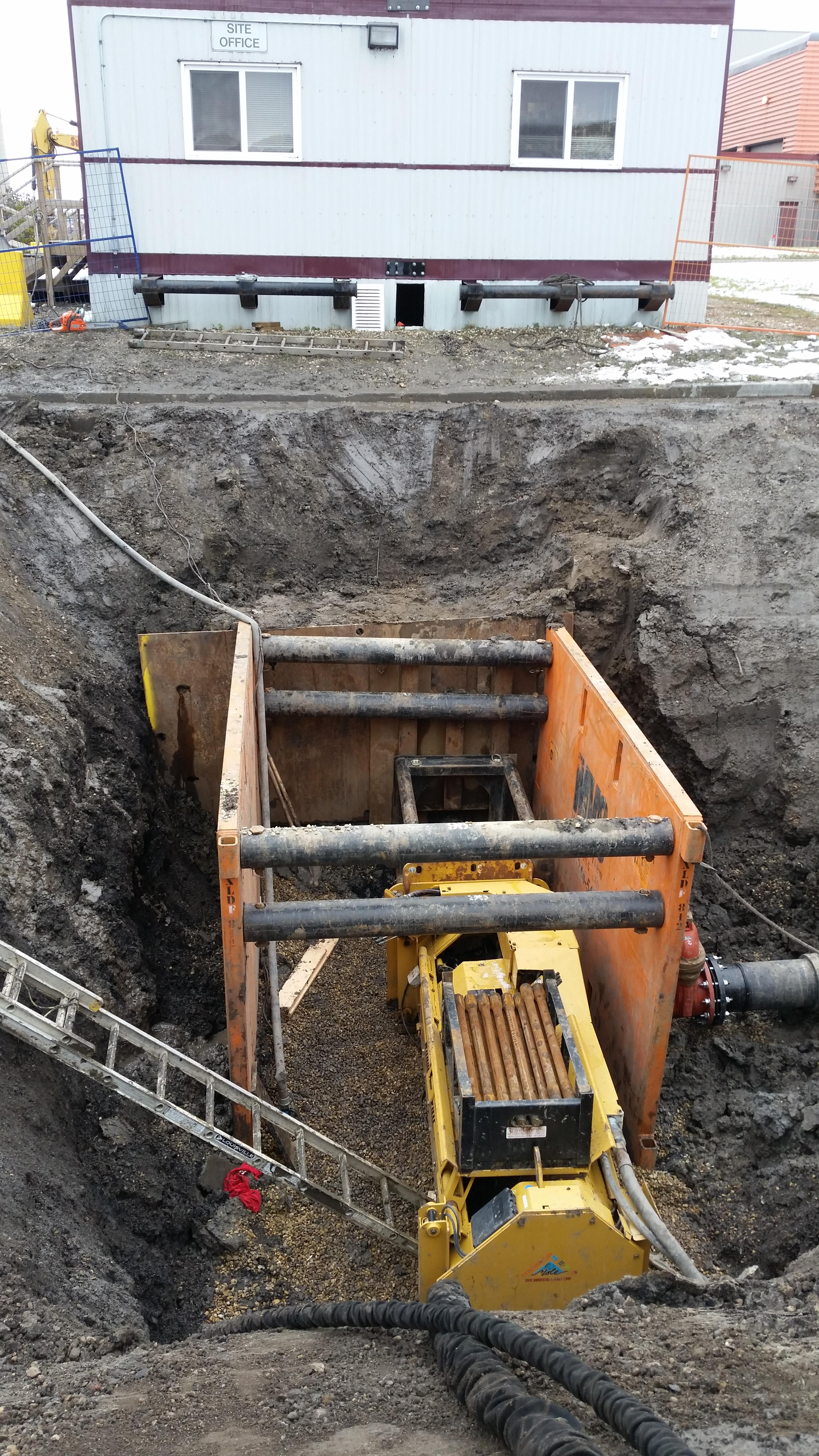 Past Projects – 3D Pipe Bursting